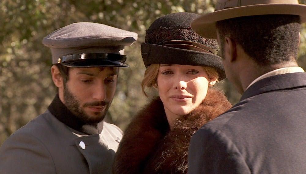 Soledad huye con Simón