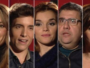 Los cinco finalistas de Tu cara me suena