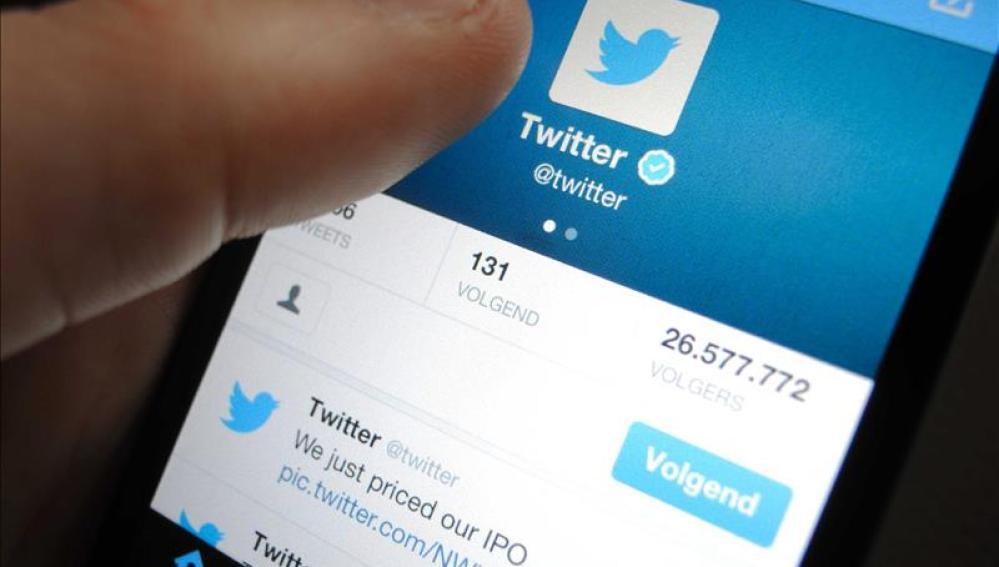 La famosa red social Twitter