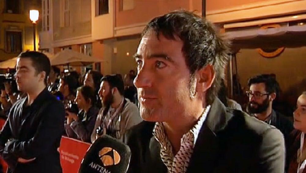Álex Pina en la Premiere de 'Kamikaze'