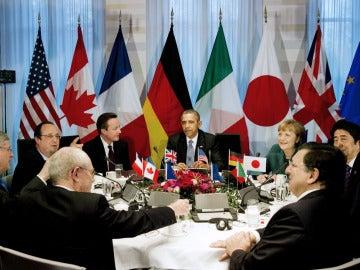 El G7, en su reunión en La Haya