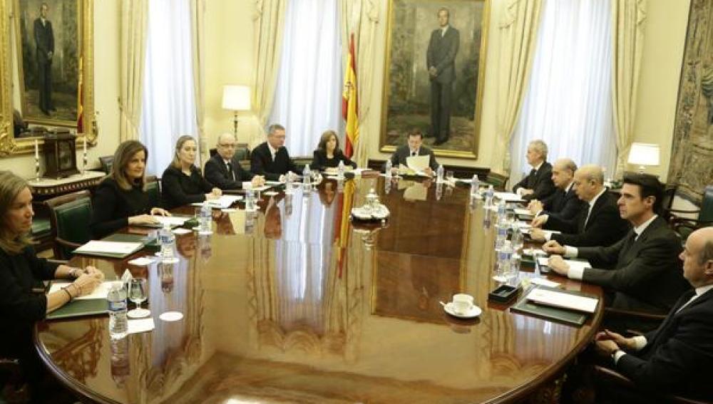 Imagen del Consejo de Ministros celebrado en el Congreso