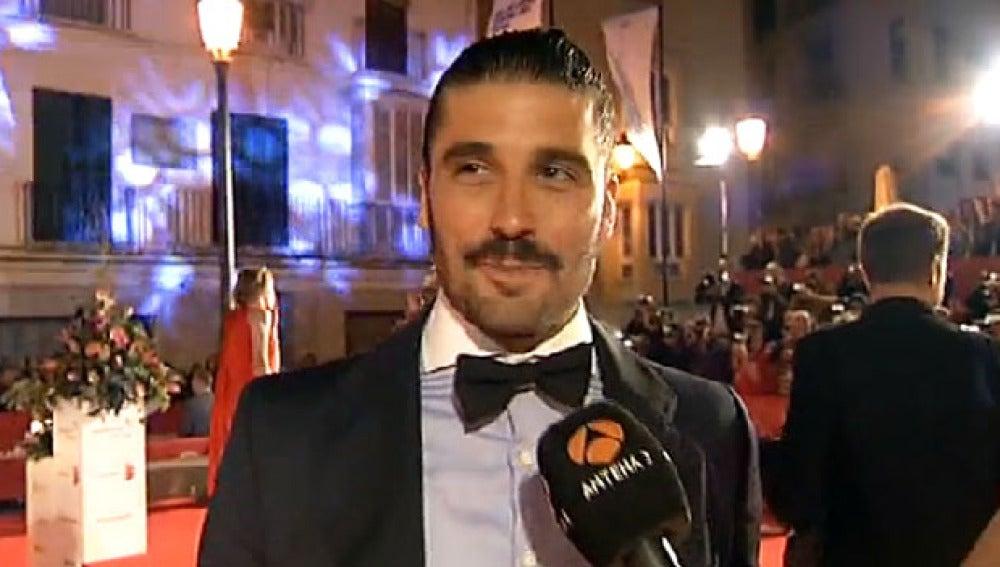 Álex García en la Premiere de 'Kamikaze'