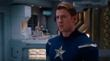 Chris Evans como 'Capitán América'