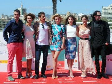 El equipo de 'Por un Puñado de Besos' presenta su película en el Festival de Málaga