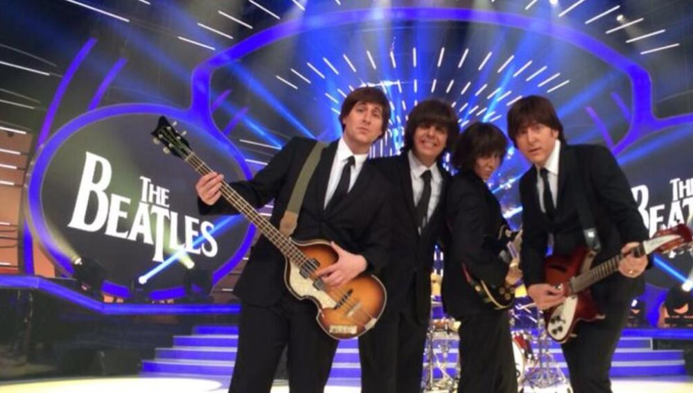 El jurado imita a Los Beatles