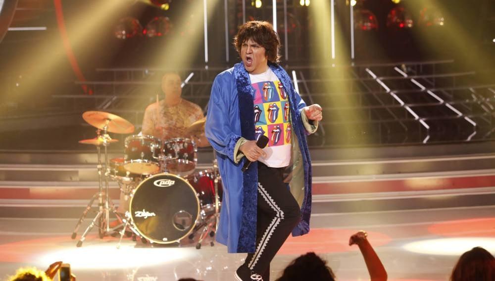Florentino Fernández imita a Los Rolling Stones en Tu cara me suena