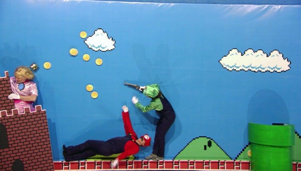 La historia de Mario Bros en ¿Está consuelo?