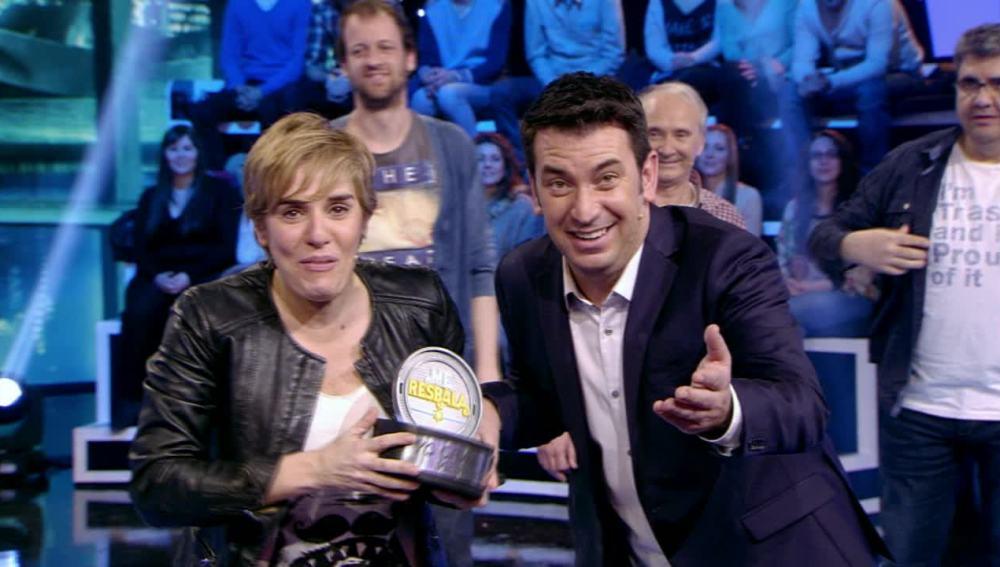 Anabel Alonso gana Me Resbala