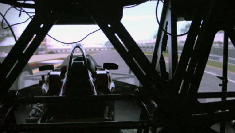 El simulador de Ferrari