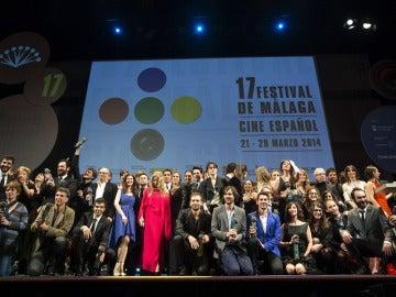 Clausura del Festival de Cine de Málaga 2014