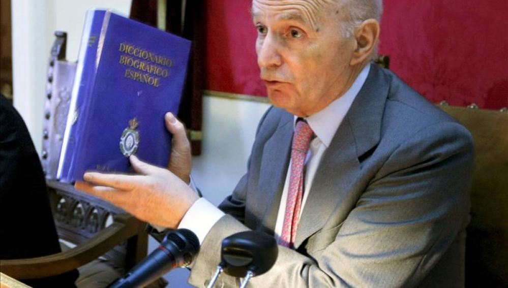 El director de la Real Academia de la Historia, Gonzalo Anes