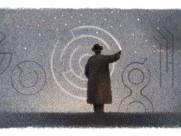 'Doodle' que Google dedica a Octavio Paz en el centenario de su nacimiento