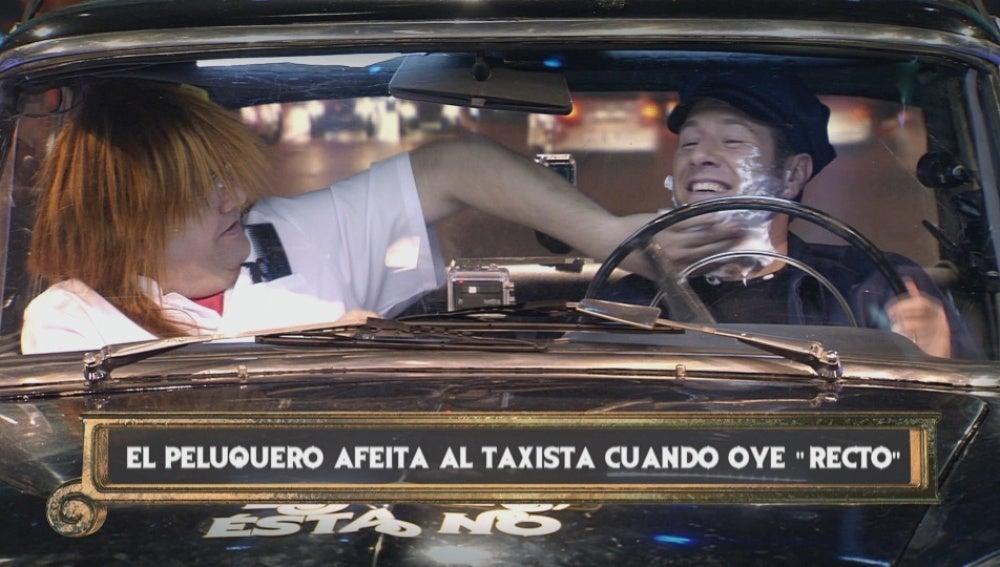 Latre, un taxista con múltiple personalidad