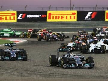 Salida del GP de Baréin