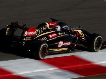 El Lotus de Grosjean