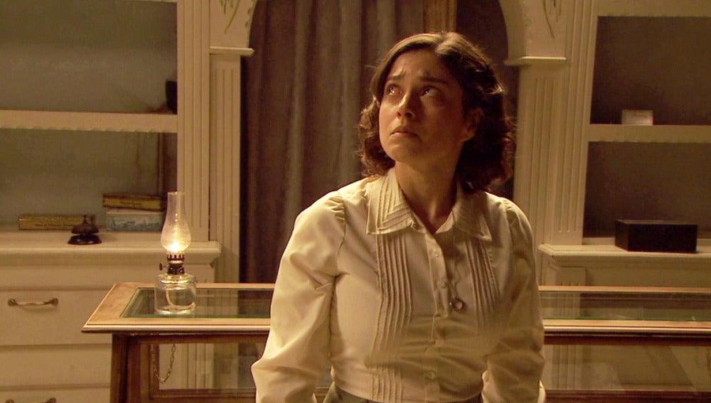 ¿Podría ser de Esperanza el llanto que escucha Candela?