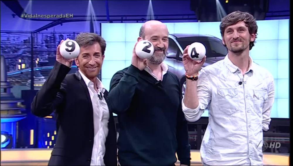 Javier Cámara, Raúl Arévalo y Pablo Motos los nuevos chicos del telecupón