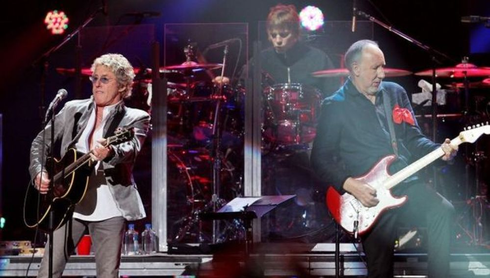 The Who durante su gira en 2013