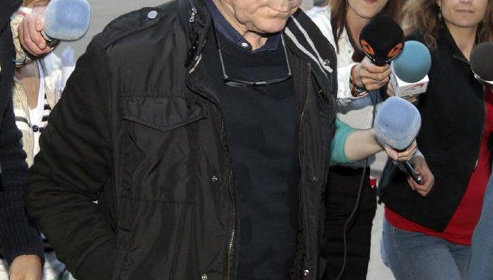 Ortega Cano entra en la cárcel de Zuera  (Zaragoza).
