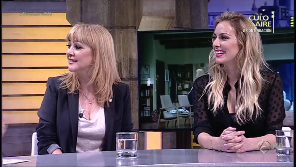 Kira Miró y Amparo Larrañaga en El Hormiguero 3.0