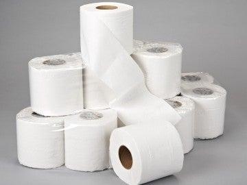 Rollos de papel higiénico (Archivo)