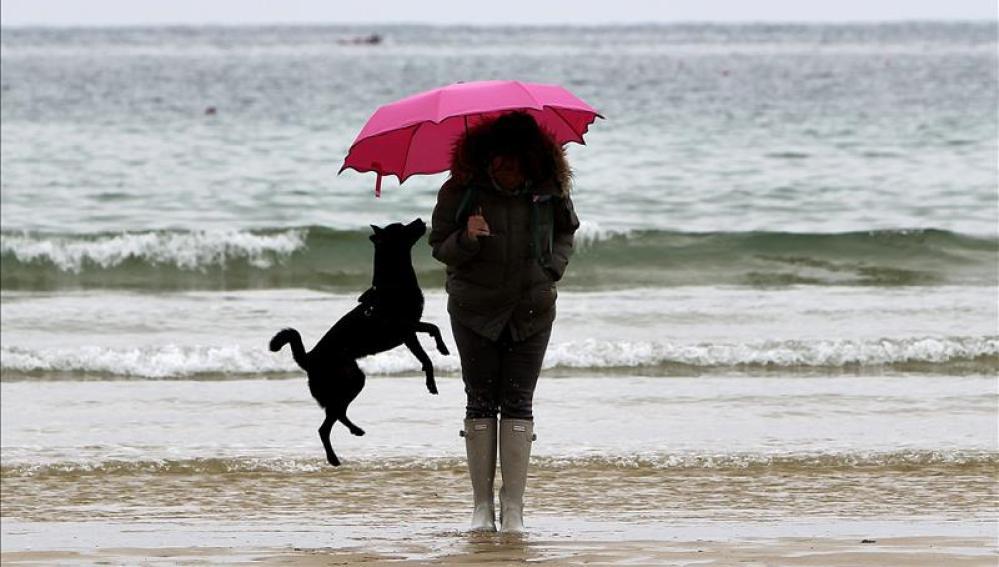 Lluvias en el norte pero suben las temperaturas