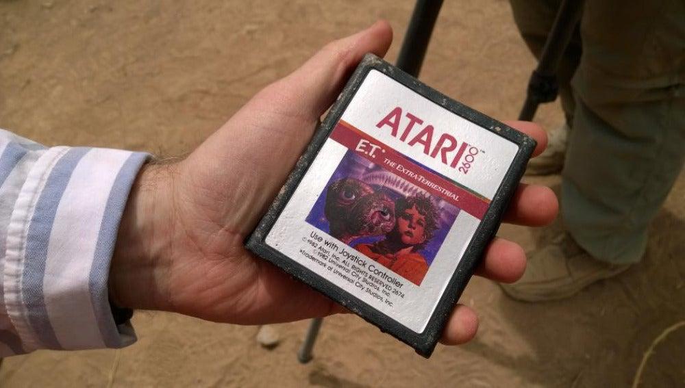 Copia del juego de E.T. de Atari