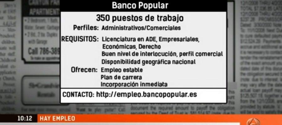 Antena 3 tv 500 puestos de empleo en las ofertas for Ver espejo publico hoy