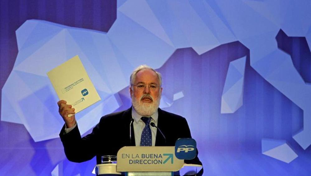 El cabeza del lista por el PP a las elecciones europeas del 25 de mayo, Miguel Arias Cañete