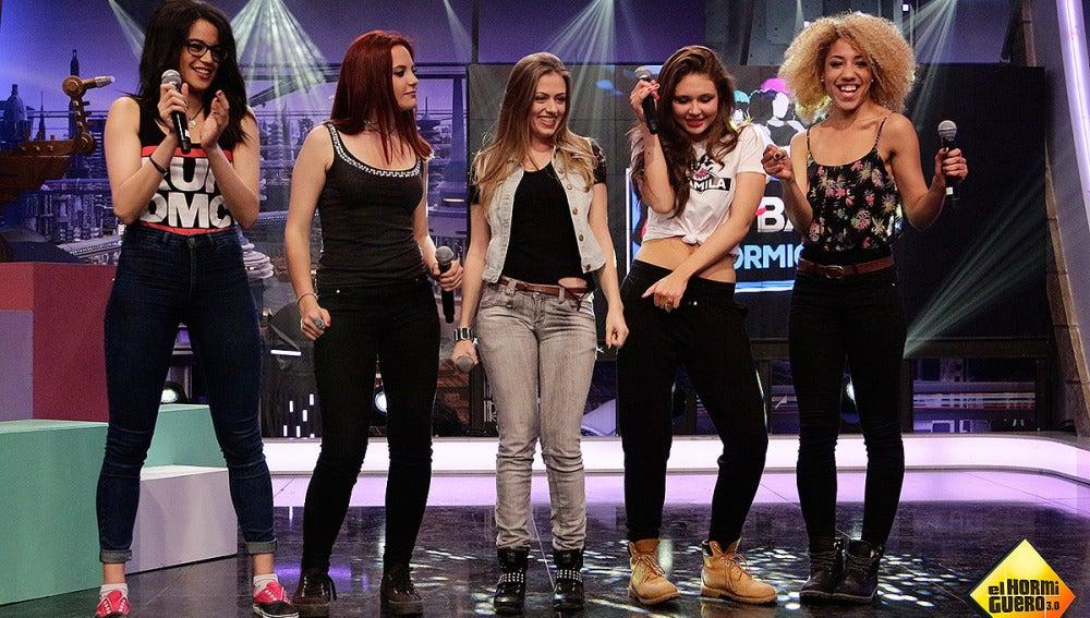La Girl Band al completo