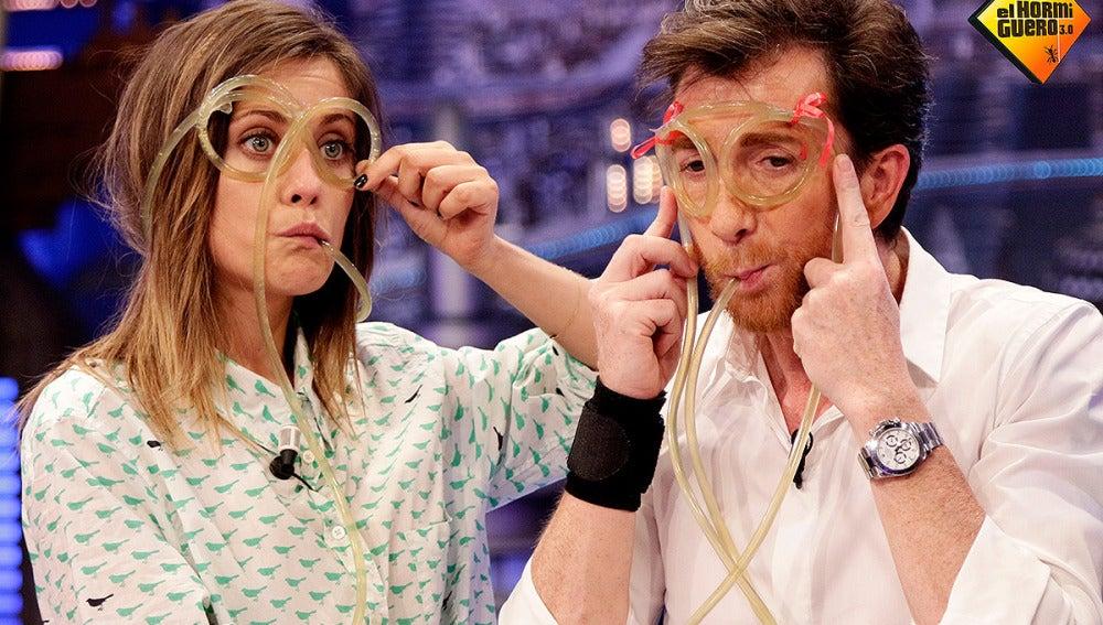 Pablo Motos y María León en El Hormiguero 3.0