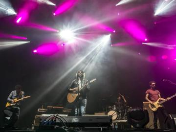 La banda Izal en concierto