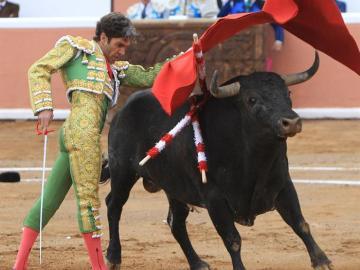 José Tomás, en su reaparición en México tras cuatro años de ausencia