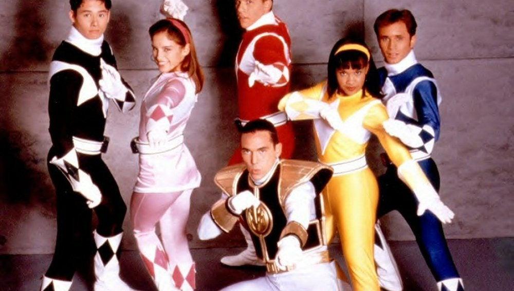 Los Power Rangers originales