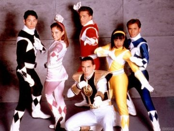 Los Power Rangers originales