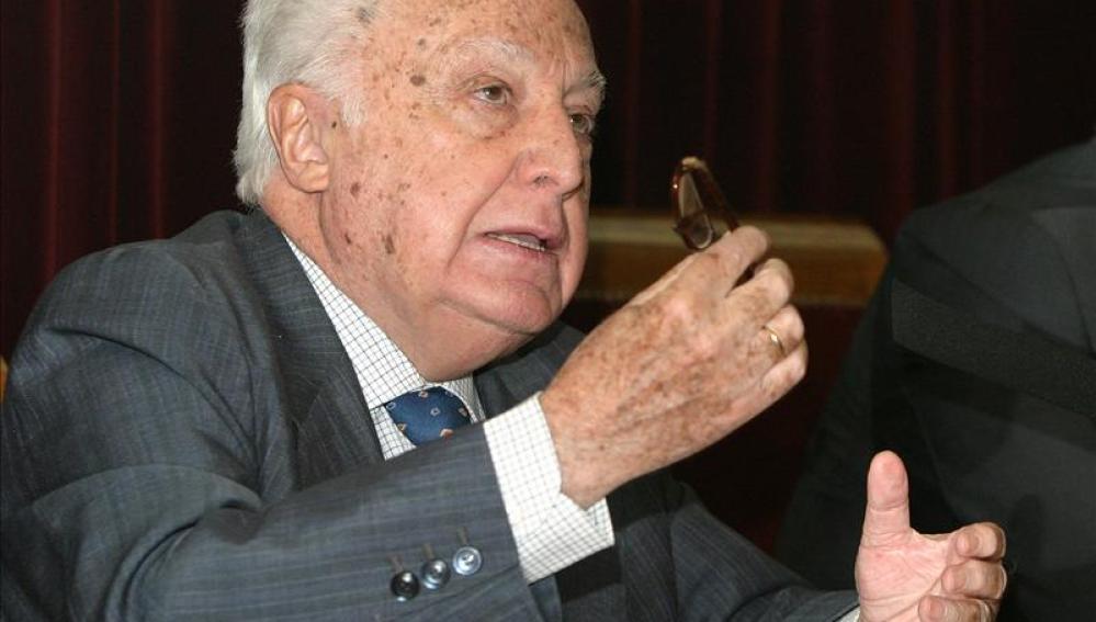 Manuel Jiménez de Parga, exministro de Trabajo y expresidente del Tribunal Constitucional