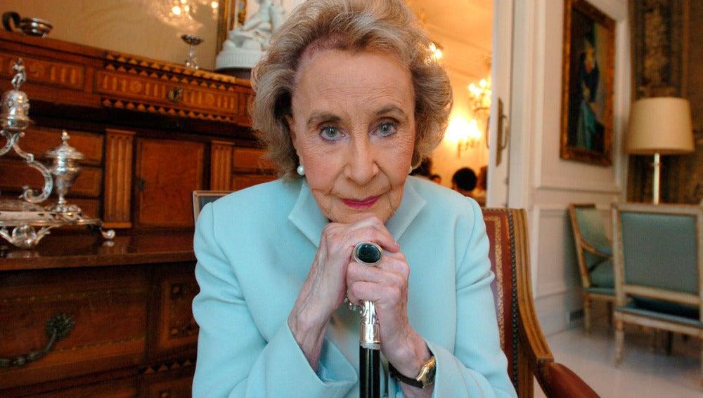 La escritora Mercedes Salisanchs