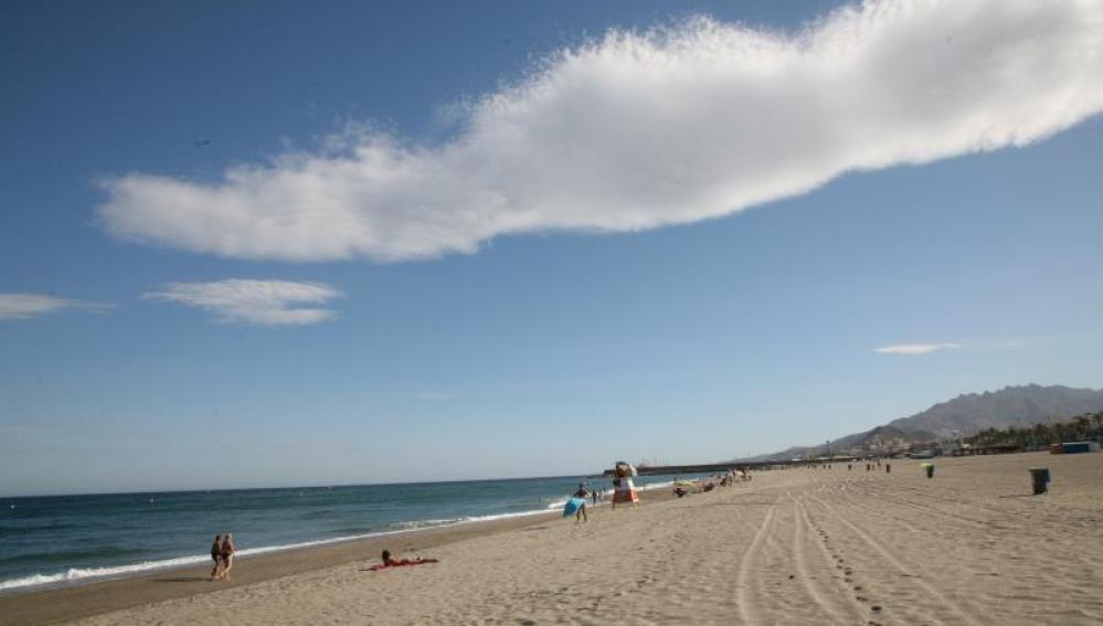 Playa Las Marinas-Bolaga, Vera (Almería)