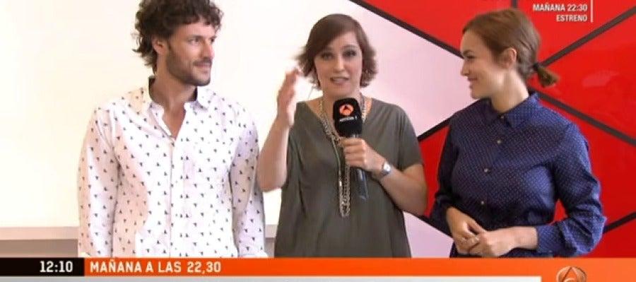 Antena 3 tv estamos con muchas ganas de ver el estreno Ver espejo publico de hoy