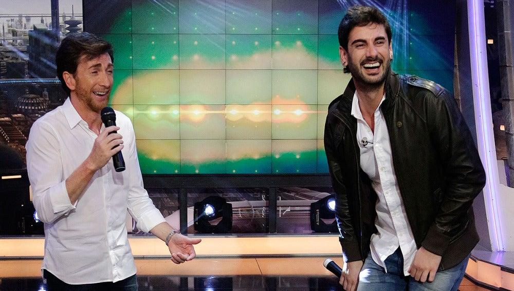 Melendi y Pablo Motos en El Hormiguero 3.0