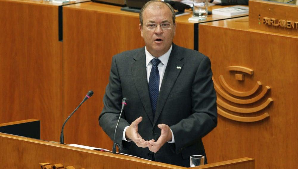 José Antonio Monago en el parlamento extremeño