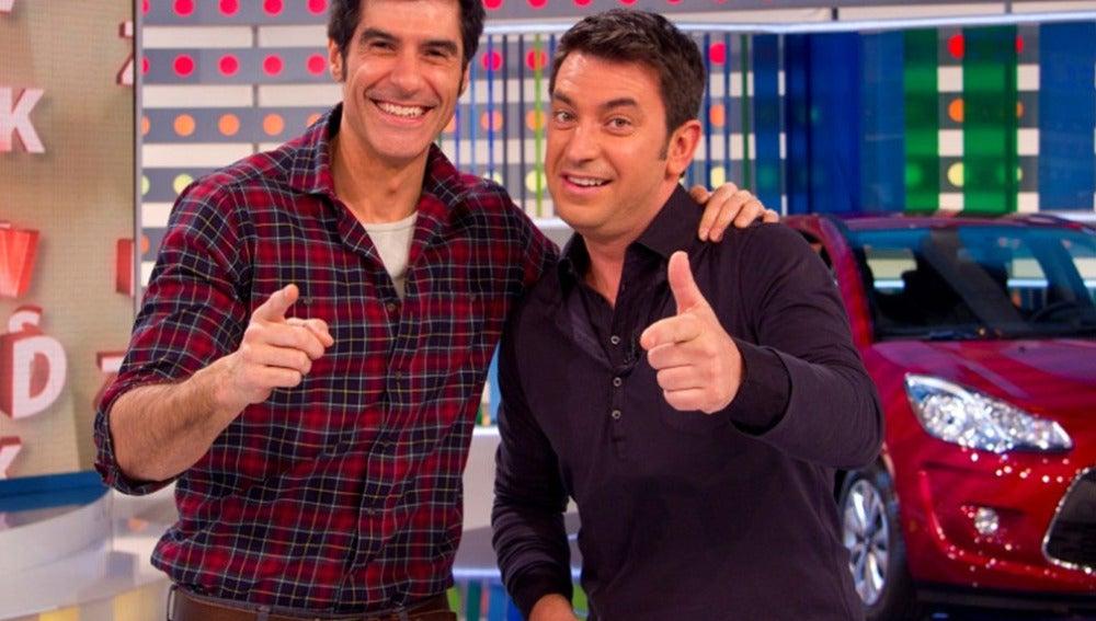 Jorge Fernández y Arturo Valls