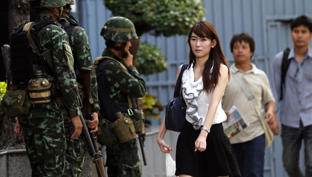 Ley Marcial en Tailandia