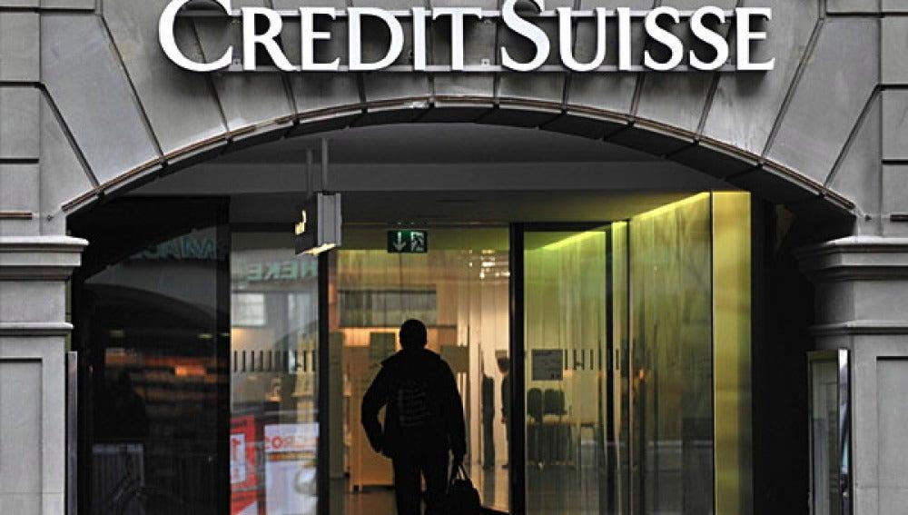 Fachada del banco suizo Credit Suisse