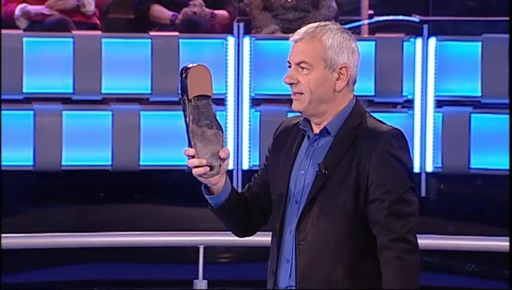 El zapato de Sobera