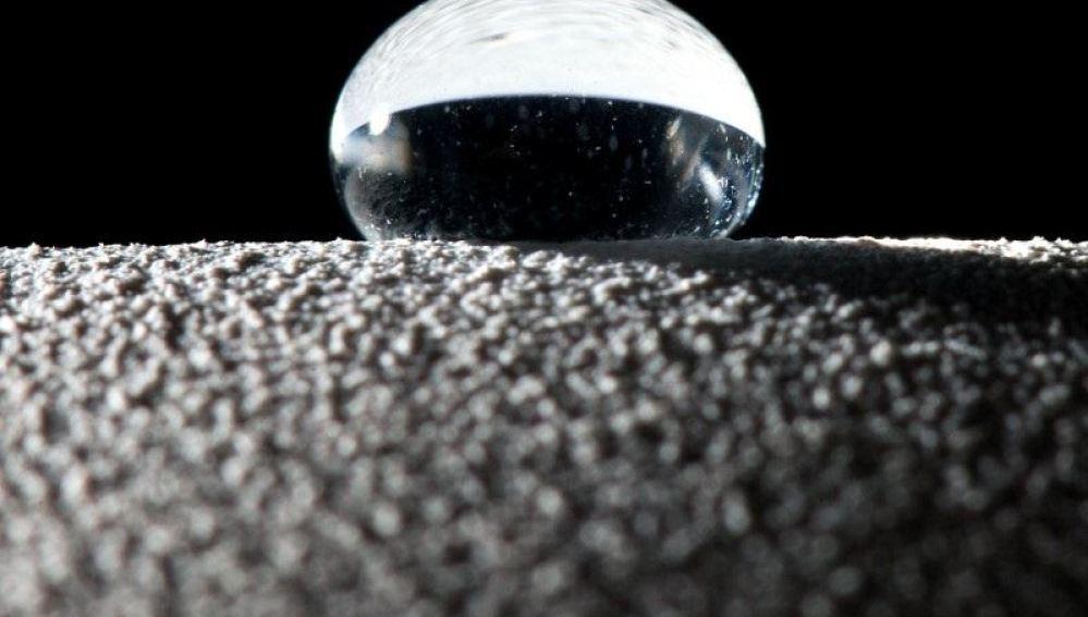 Gota de agua creada