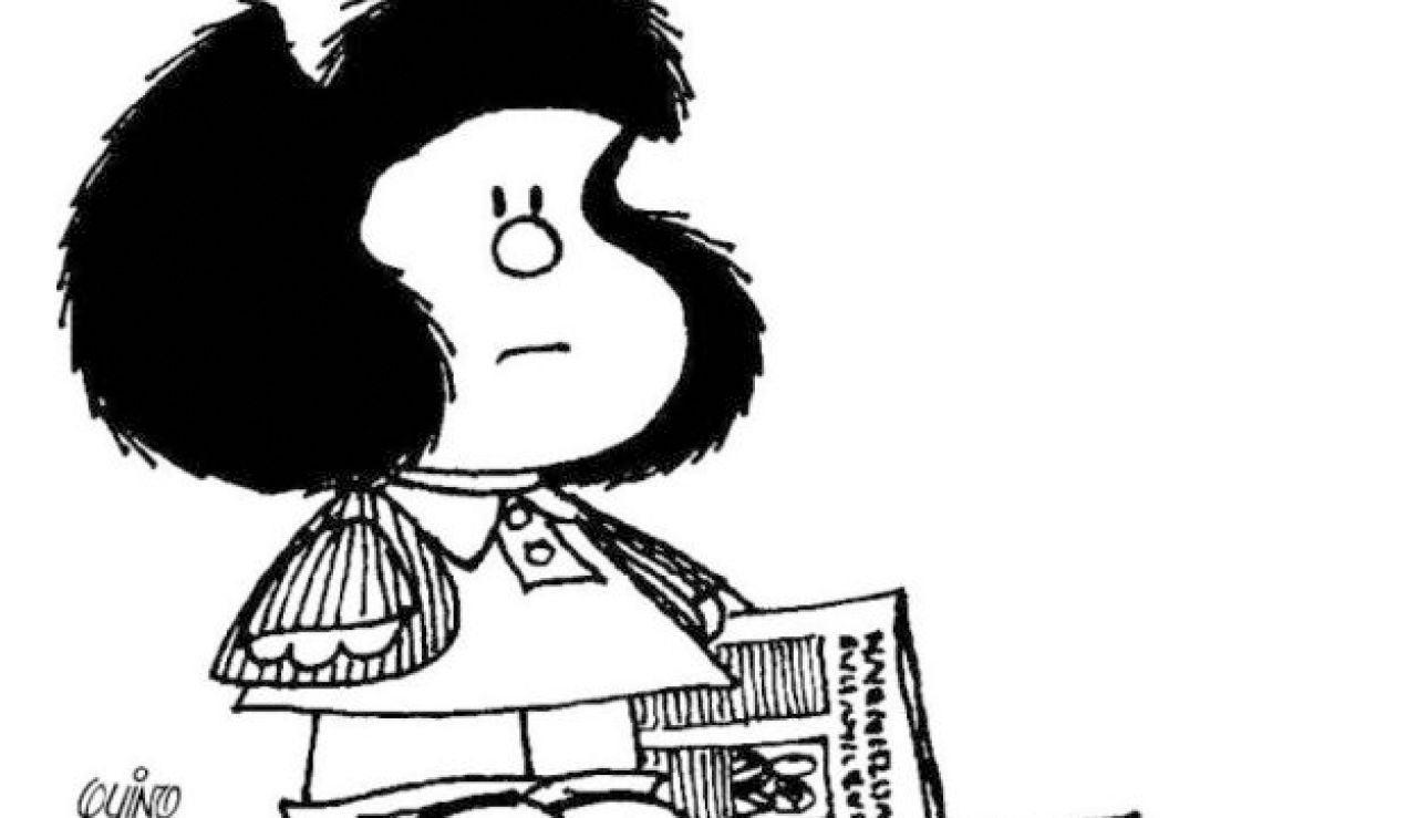 'Mafalda', le personaje más famoso del humorista gráfico 'Quino'.
