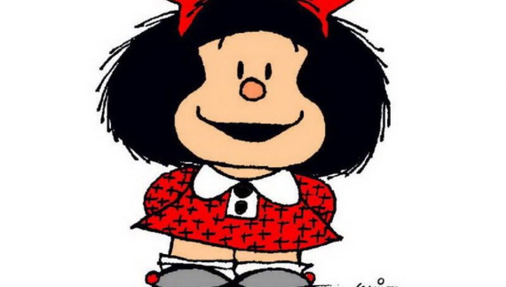 'Mafalda', la heroína de 'Quino'.