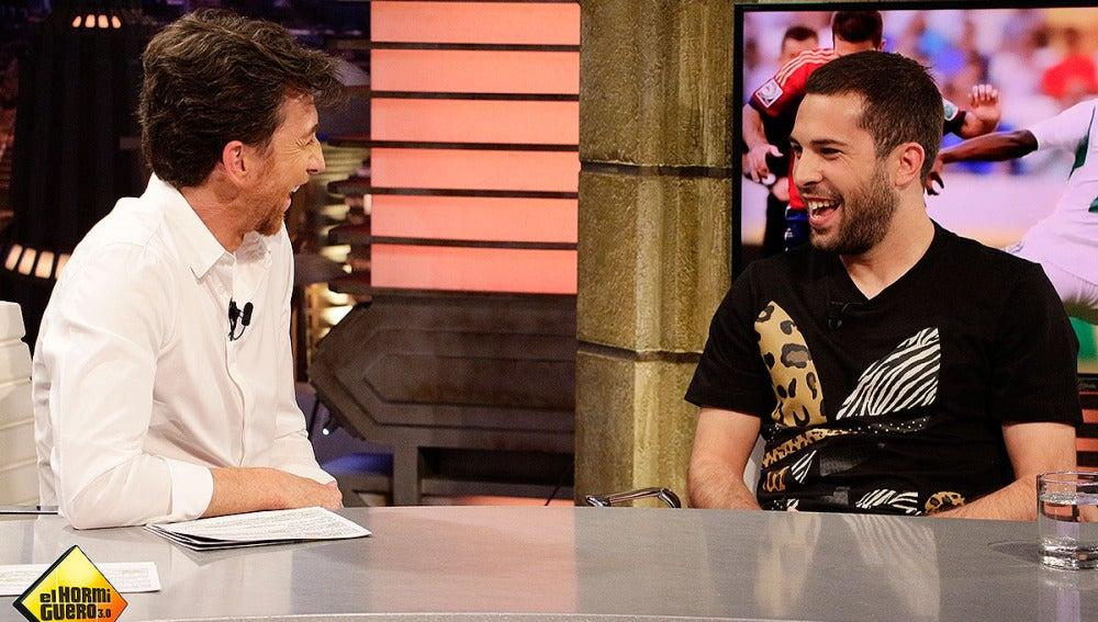 Jordi Alba en El Hormiguero 3.0
